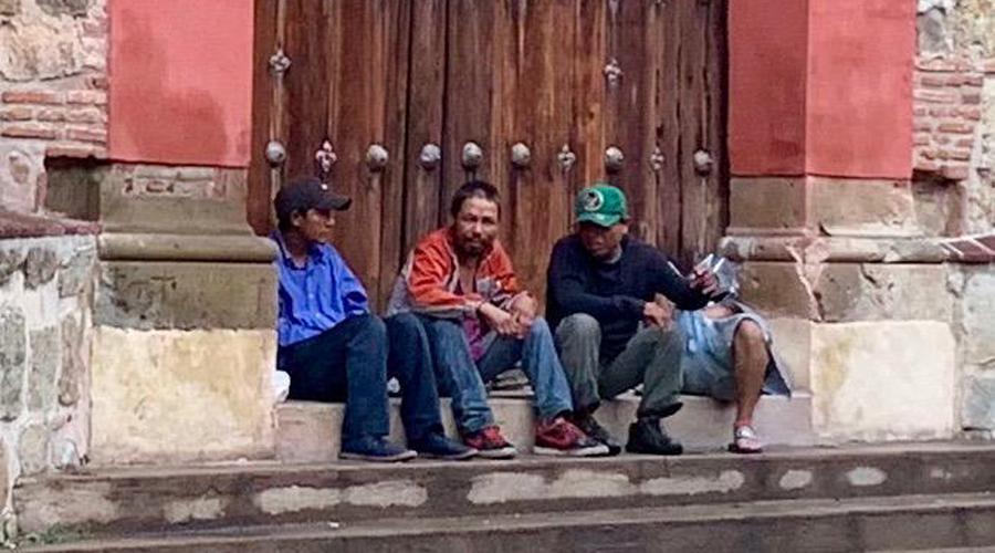 Convierten en cantina  y sanitario el Andador Turístico de Oaxaca