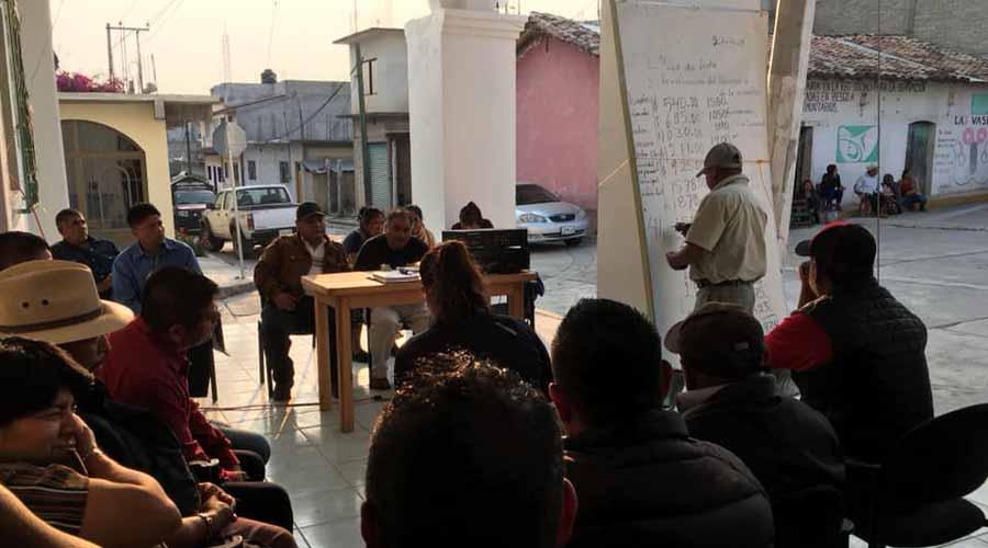 Convocan  a asamblea en  Santos Reyes Tepejillo