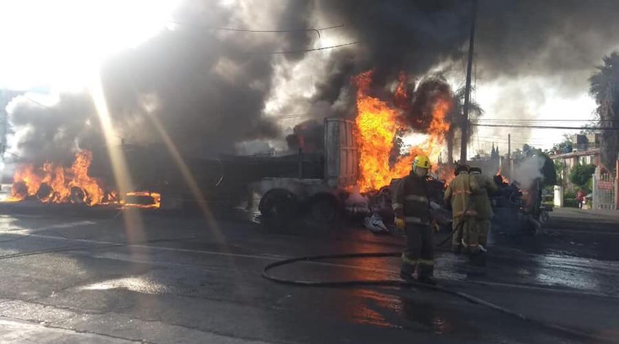 Tráiler sin frenos provoca choque en carretera México-Cuautla; al menos seis muertos   El Imparcial de Oaxaca