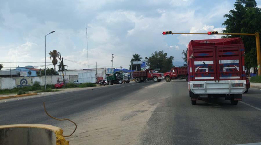Estallan los bloqueos en la capital de Oaxaca | El Imparcial de Oaxaca