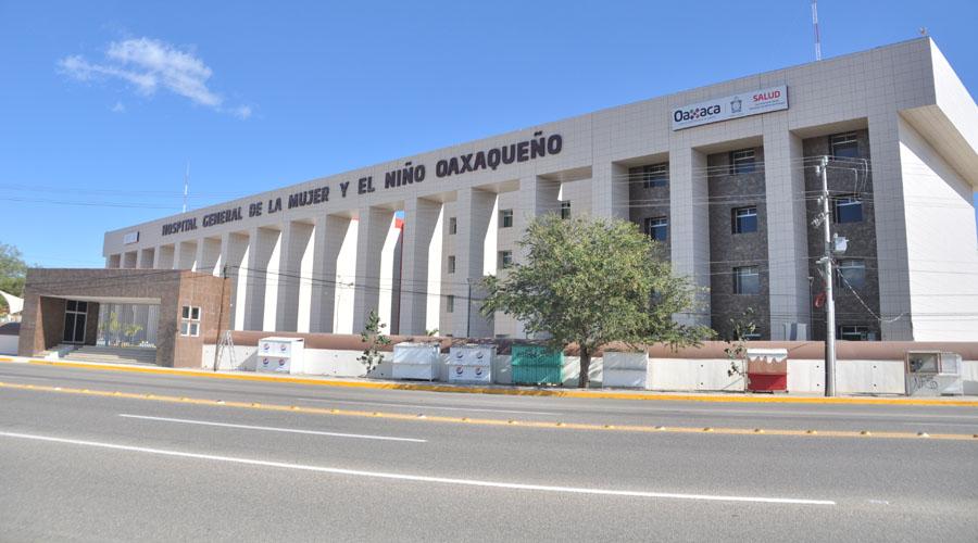 Sigue paralizado hospital materno infantil de Oaxaca   El Imparcial de Oaxaca