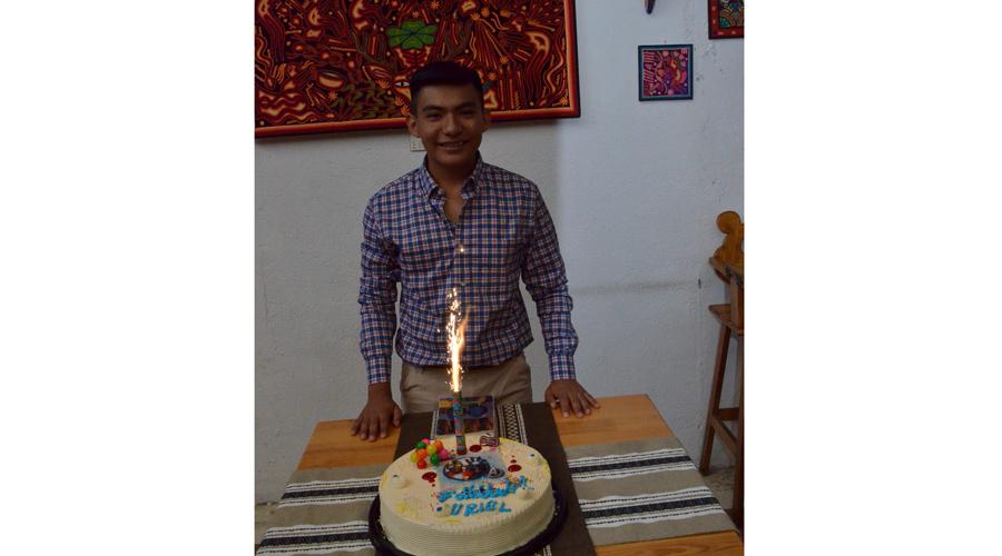 El cumpleaños de Uriel