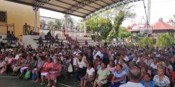 Entregan apoyos Bienestar a adultos mayores en Pochutla
