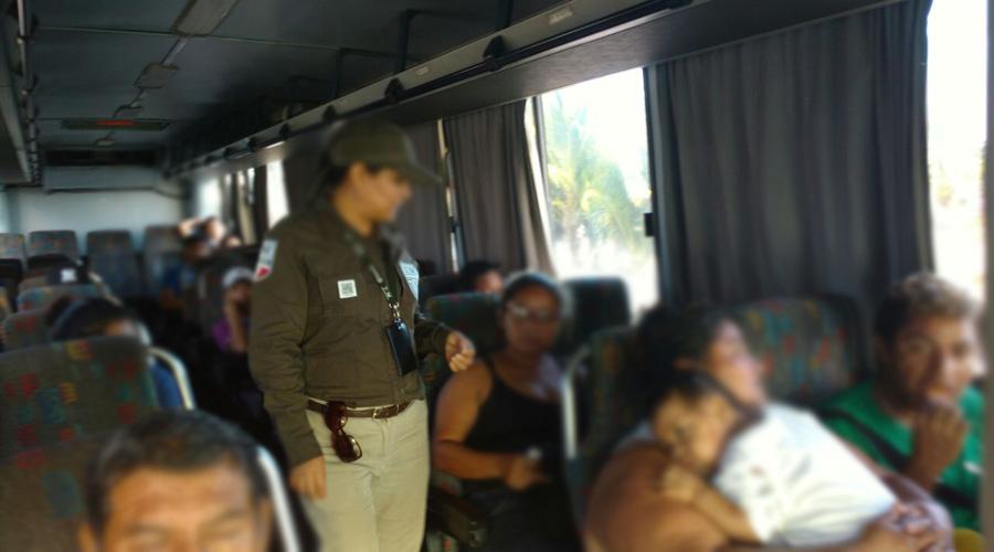 Repatria INM a 108 familias hodureñas | El Imparcial de Oaxaca