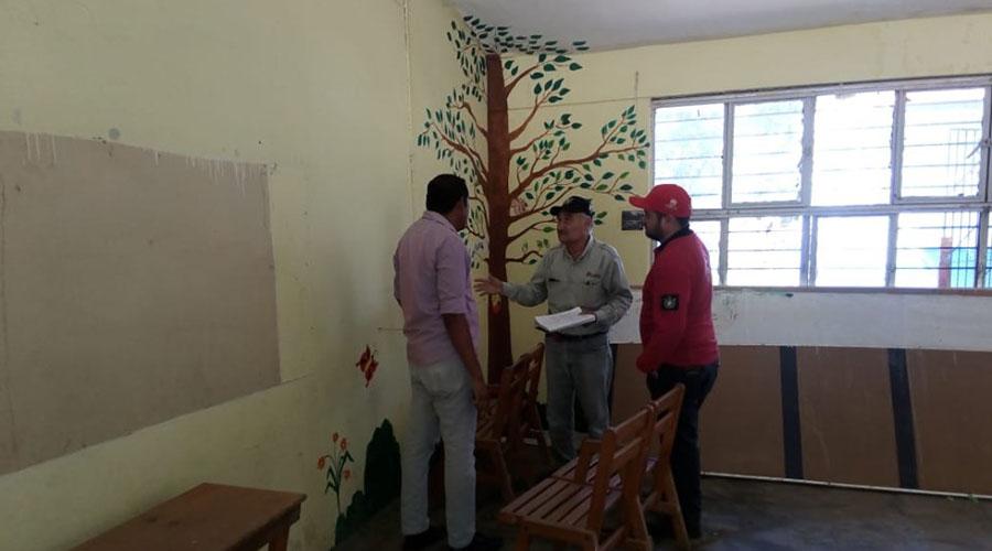 Inspeccionan escuelas del Istmo, dañadas por los sismos | El Imparcial de Oaxaca