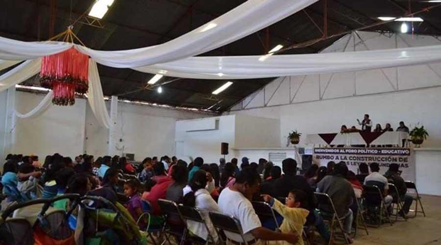 Hacen foro educativo  en Nochixtlán | El Imparcial de Oaxaca