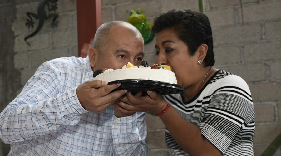 Fernanda y Diego celebraron sus 20 años de matrimonio