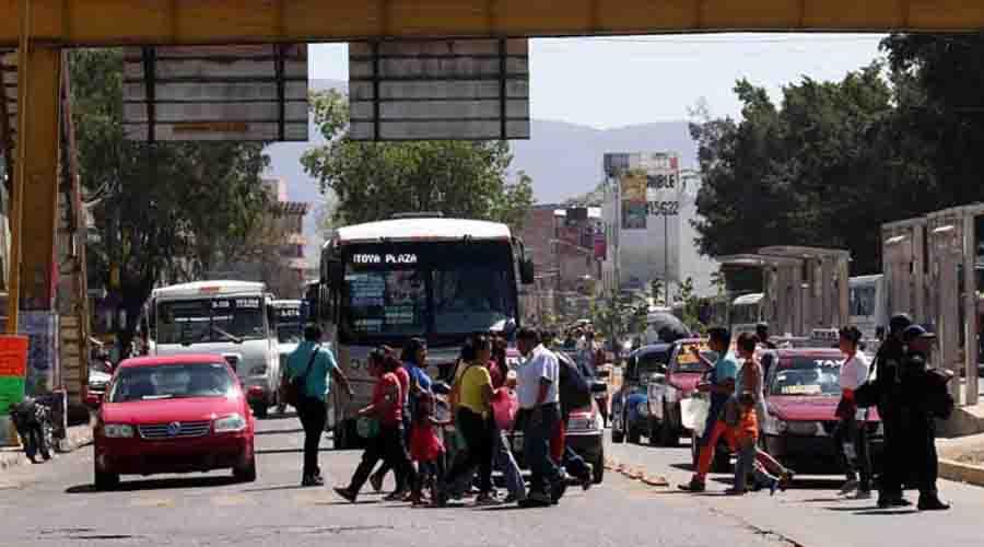 Oaxaca reclama  una política de movilidad | El Imparcial de Oaxaca