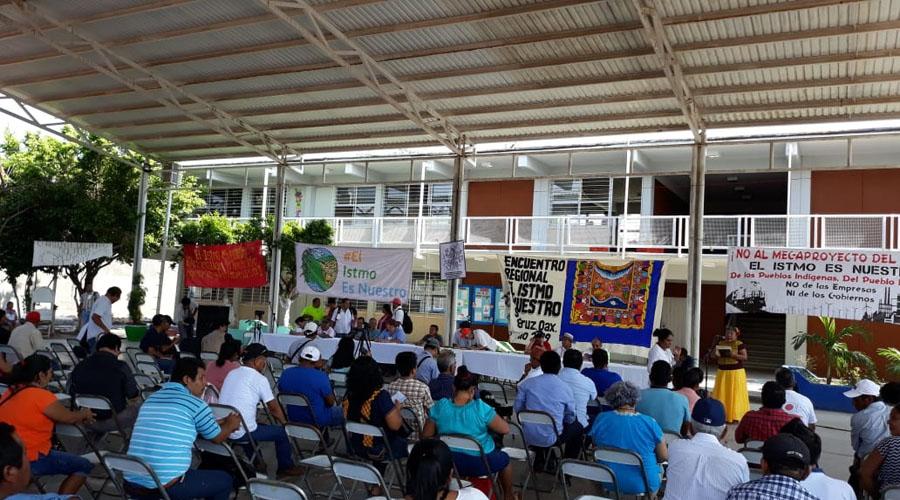 Organizaciones rechazan megaproyecto en el Istmo | El Imparcial de Oaxaca