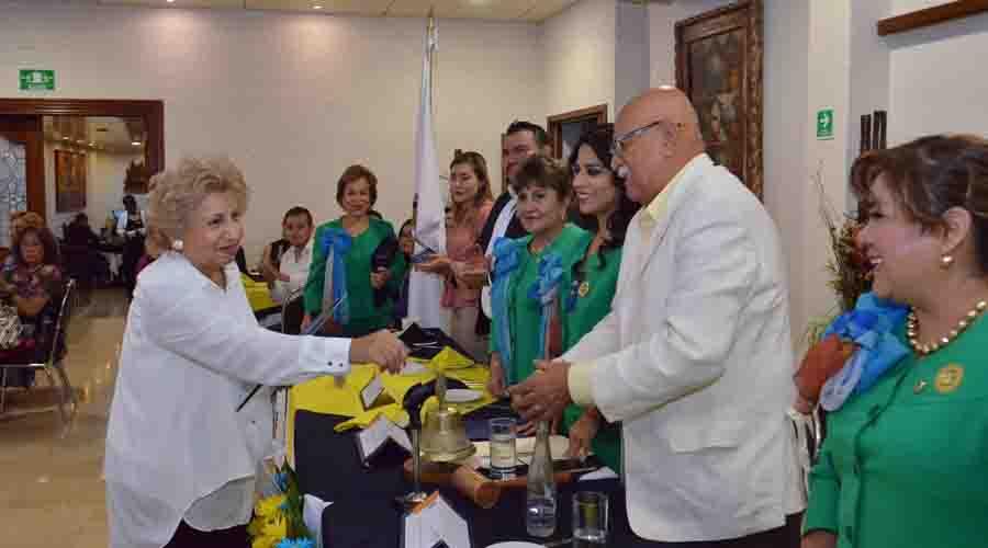 Los miembros del Club Rotario Guelaguetza se reunieron