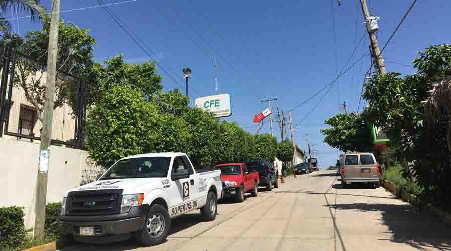 Reportan apagones  de energía eléctrica  en la Costa de Oaxaca   El Imparcial de Oaxaca