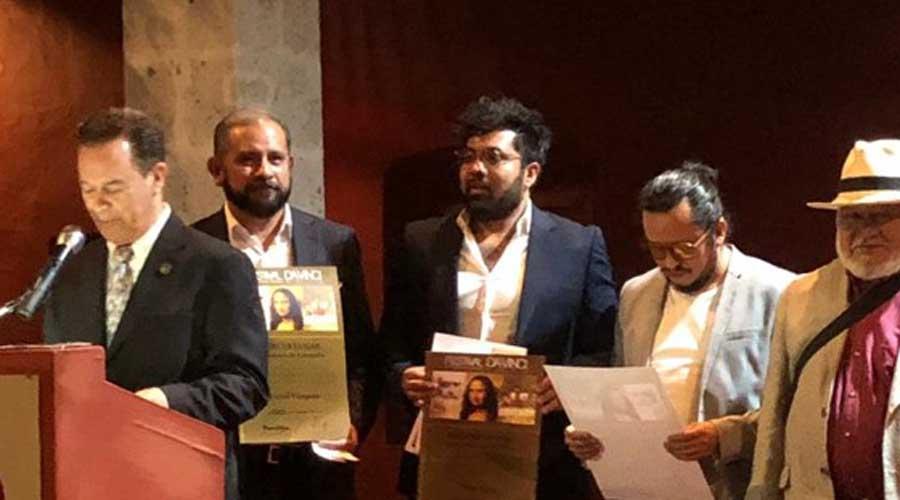 Max Sanz obtiene tercer lugar en Festival Intenacional Da Vinci 2019