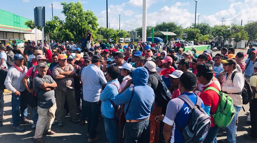 Sindicatos de Juchitán pelean construcción de transnacional | El Imparcial de Oaxaca