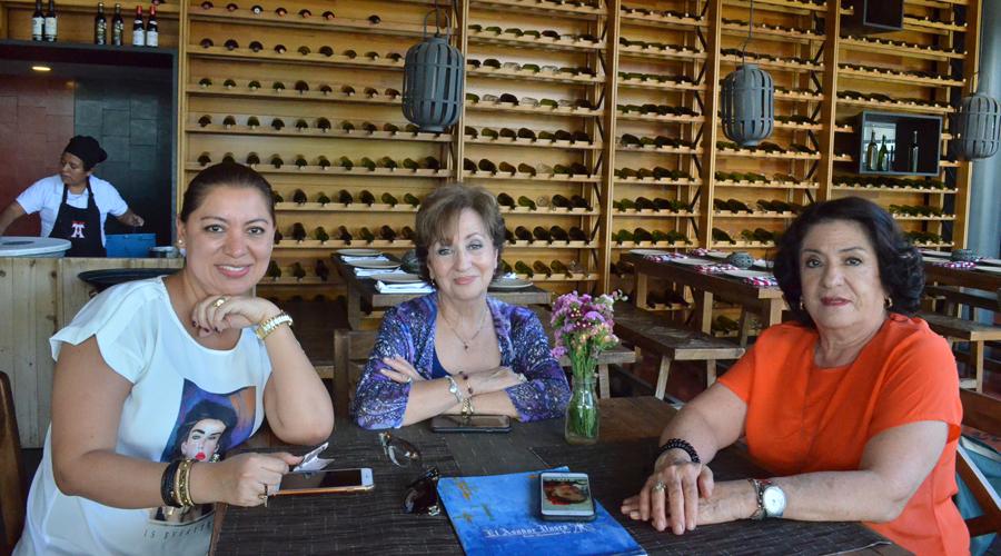 Reciben a Guadalupe  en la ciudad de Oaxaca