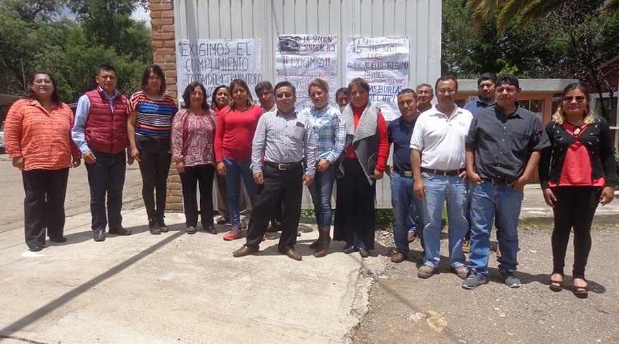 Trabajadores del INPI de Tlaxiaco,  estallarán en huelga