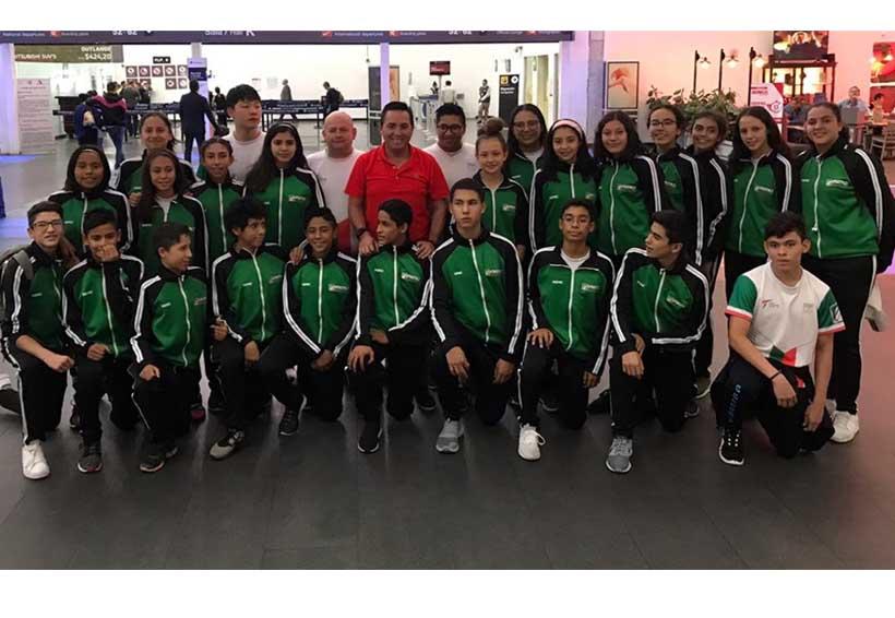 Maritza Altamirano fortalece su técnica en el Taekwondo