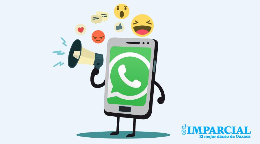 Ya podrás saber cuántas veces se reenvían tus mensajes en WhatsApp | El Imparcial de Oaxaca