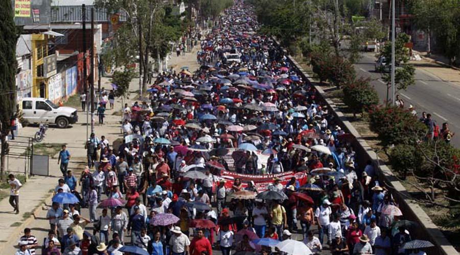 Marcha sección 22 para conmemorar desalojo fallido del 2006 | El Imparcial de Oaxaca