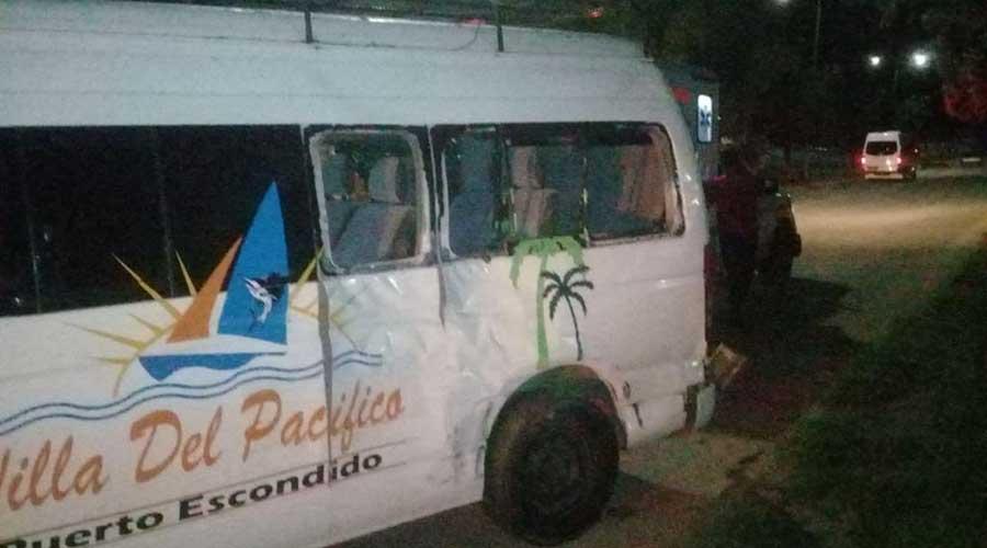 Chocan dos unidades de motor en La Experimental | El Imparcial de Oaxaca