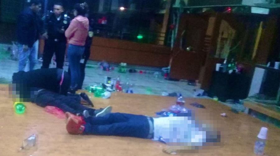 Asesinan a tiros a dos personas en bar | El Imparcial de Oaxaca