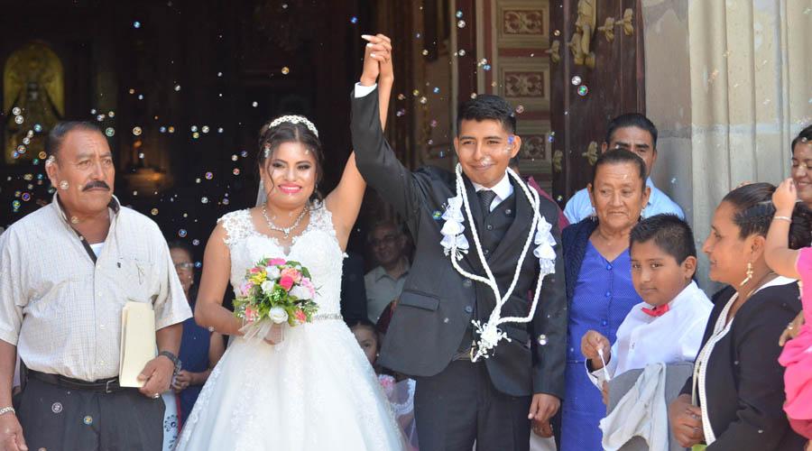 Minerva y Ricardo se casan
