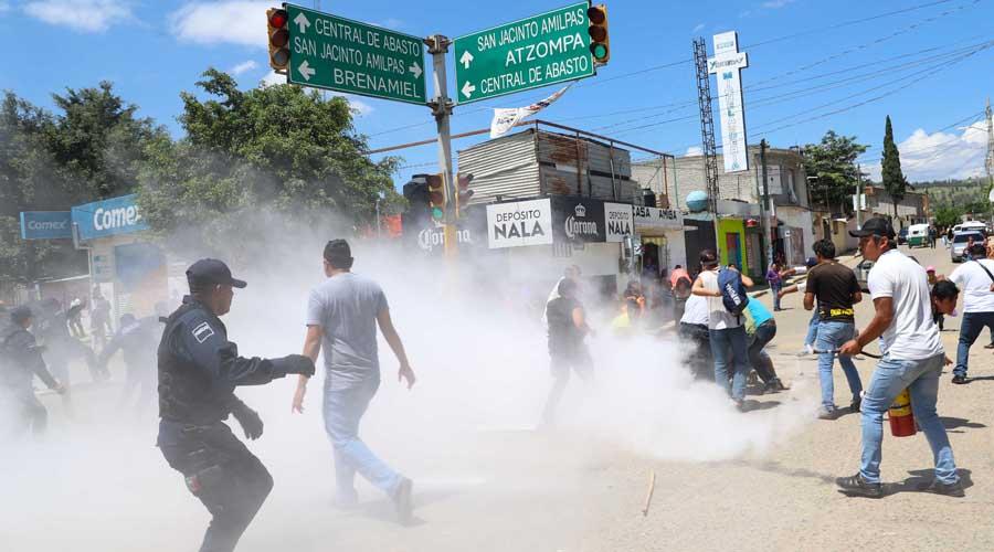 Enfrentamiento en San Jacinto Amilpas empaña fiestas populares