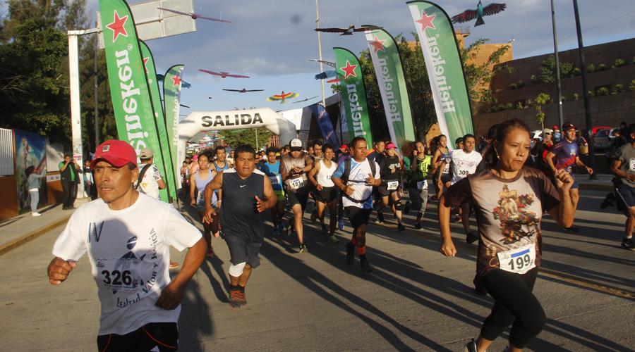 Se realizó la cuarta edición de la Carrera Atlética Donají La Leyenda