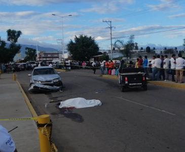Fallece mototaxista en el bulevar Guadalupe Hinojosa