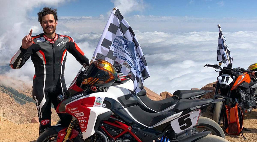 Fallece piloto de Ducati al caer a un barranco durante competencia en montaña | El Imparcial de Oaxaca