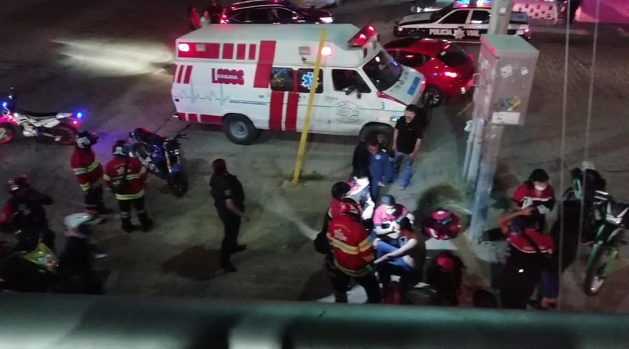Motociclista se impacta contra camioneta en colonia Linda Vista | El Imparcial de Oaxaca