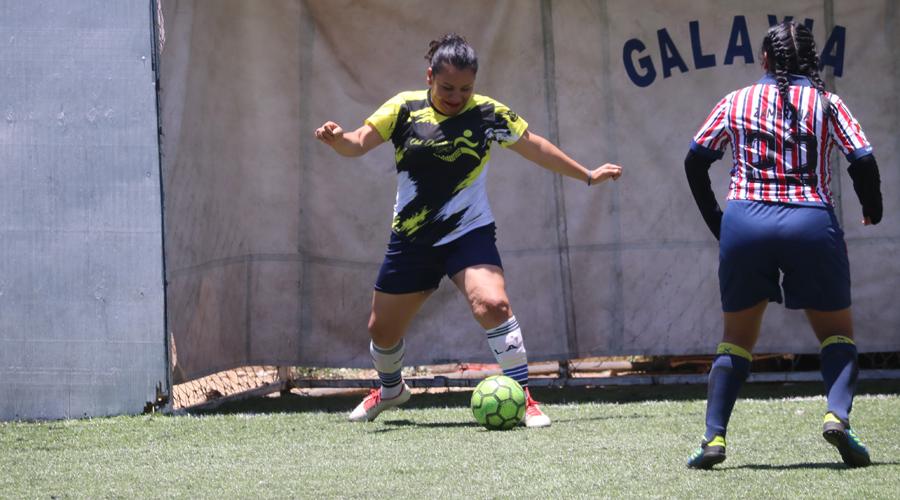Fantasmas marchan al frente de la Liga Femenil de Fútbol Rápido Galaxia