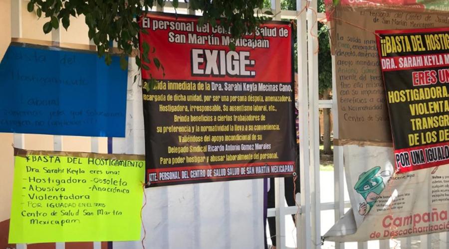 Paran labores en centro de salud de San Martín contra directora | El Imparcial de Oaxaca