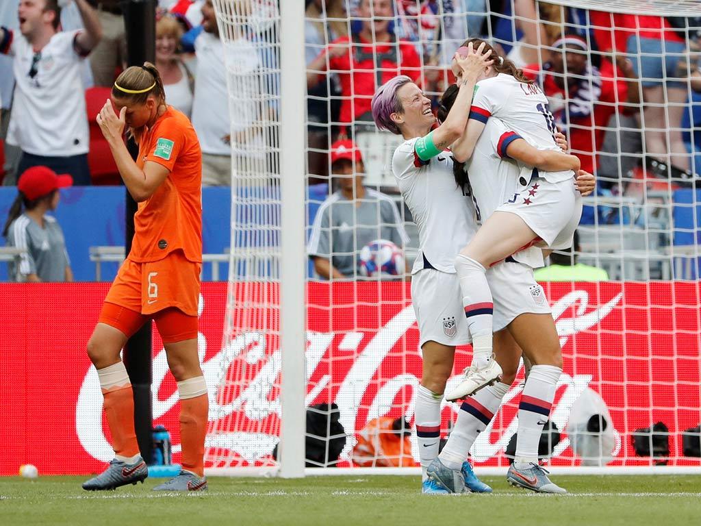 EU, campeón mundial de futbol femenil | El Imparcial de Oaxaca