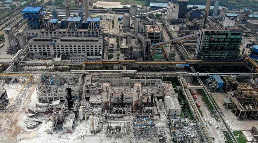Video: Explosión de planta de gas en China deja 15 muertos | El Imparcial de Oaxaca