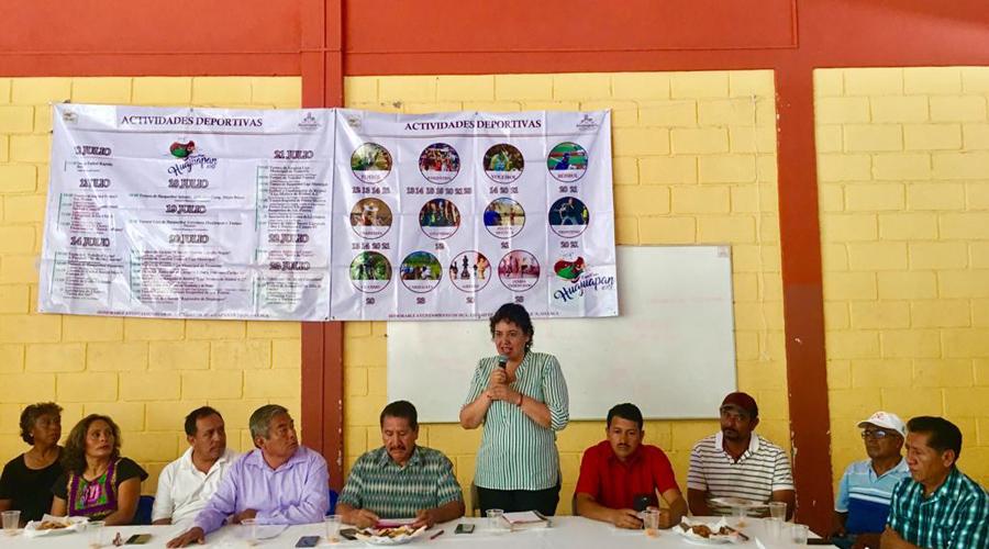 Anuncian actividades deportivas de la Feria Huajuapan