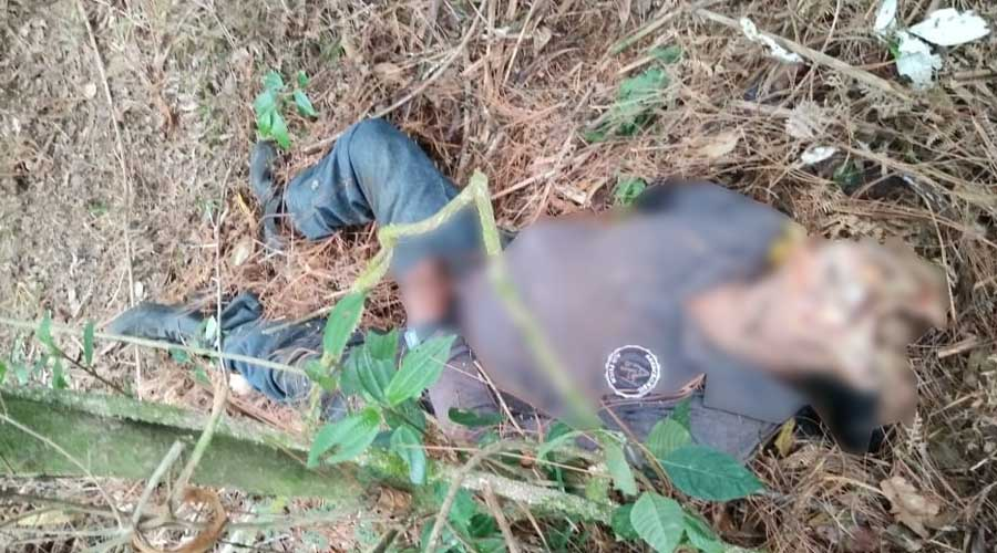Hallan en Miahuatlán a sujeto asesinado por un escopetazo en la cabeza | El Imparcial de Oaxaca