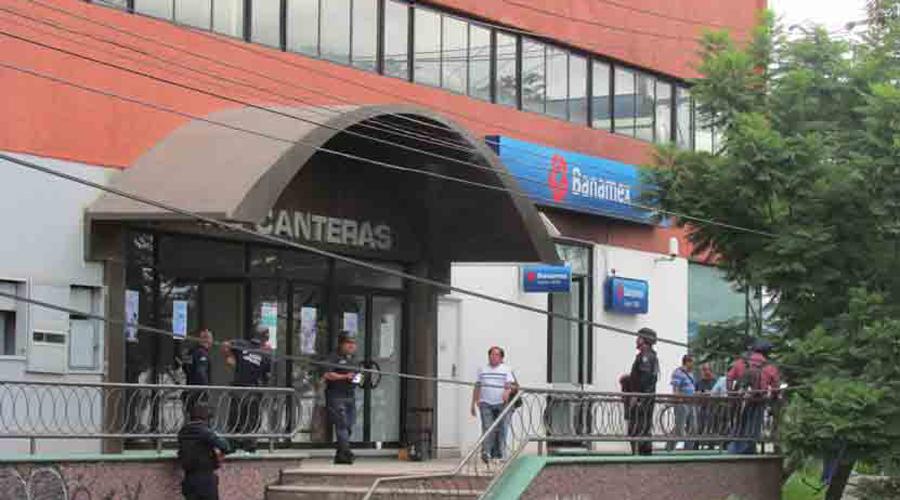 Asaltabancos atracan de nuevo en las Canteras