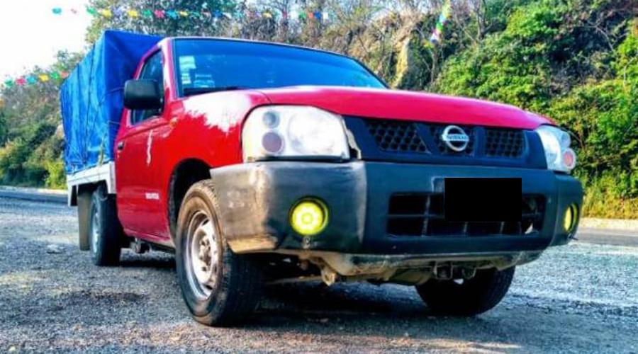 Desaparece camioneta cargada de harina en Paxtlán, Miahuatlán | El Imparcial de Oaxaca