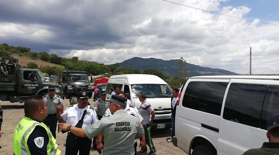 Rescatan a retenidos en San Dionisio Ocotepec