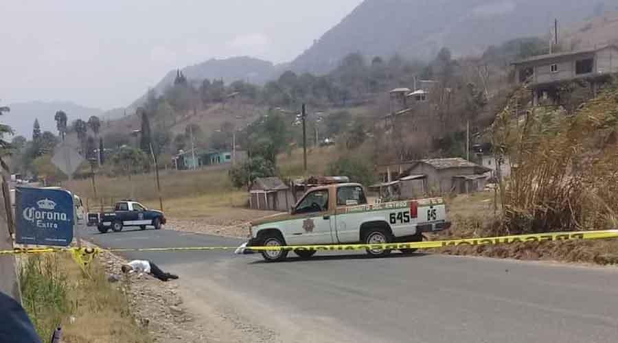 Tras la pista de matapolicías viales en Oaxaca