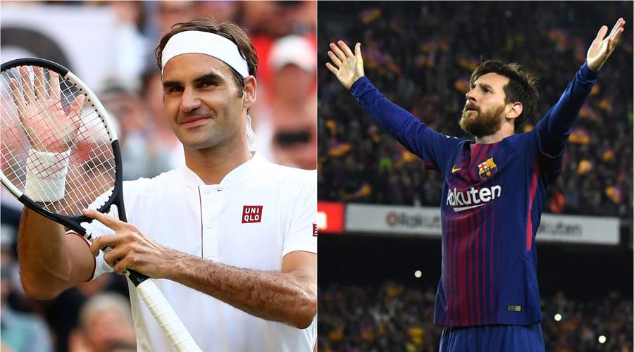 Elogia el tenista Roger Federer al astro del futbol Lionel Messi | El Imparcial de Oaxaca