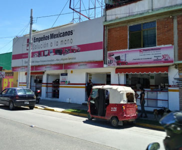 Atracan una casa de empeños en Xoxocotlán