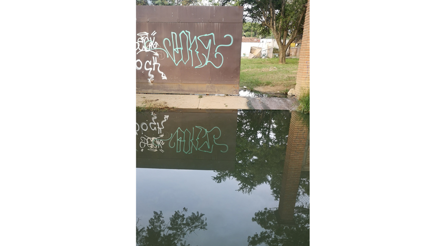 Aguas negras inundan San Jacinto Amilpas, Oaxaca