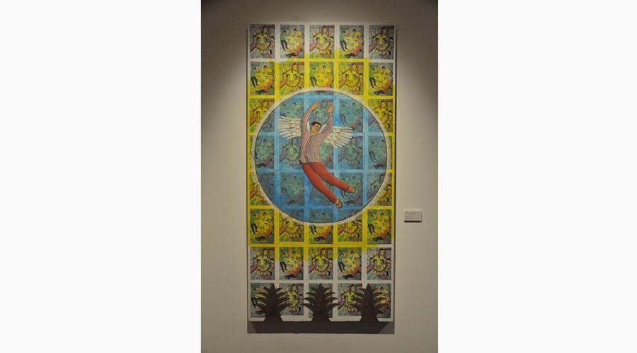 Artistas se unieron para mostrar la exposición pictórica Caminos del Color