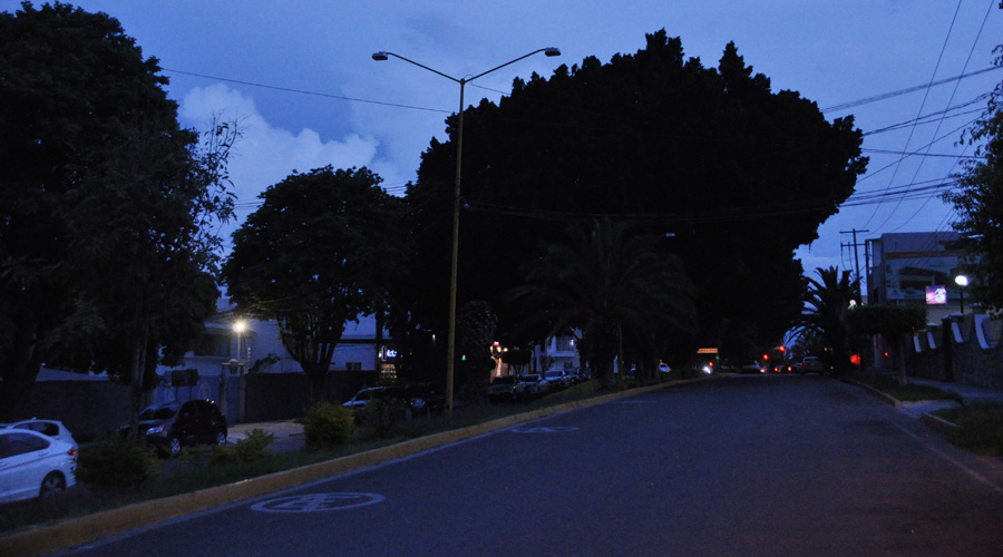 Aumenta la inseguridad por falta de luminarias en las calles de Oaxaca
