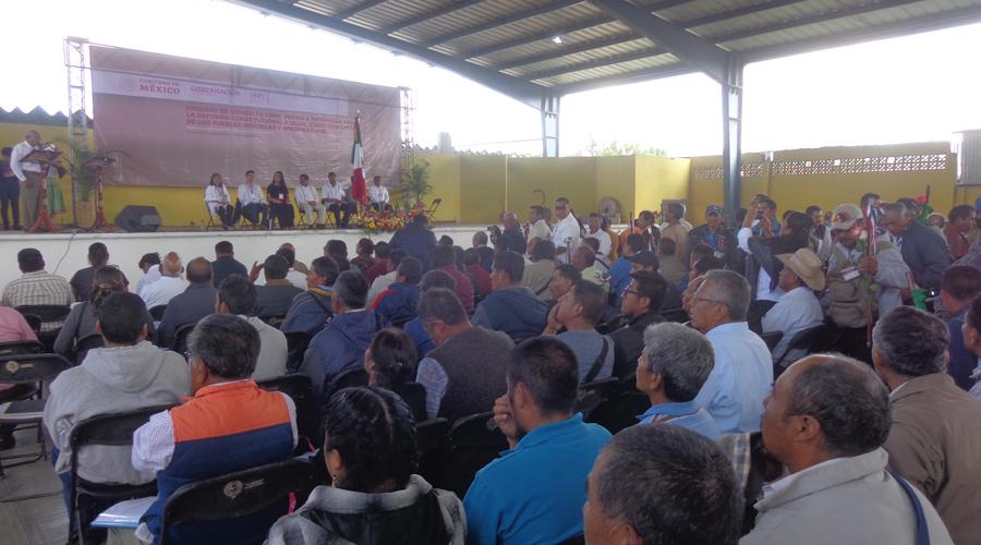 Autoridades de la Mixteca exigen  capacitación a fiscales