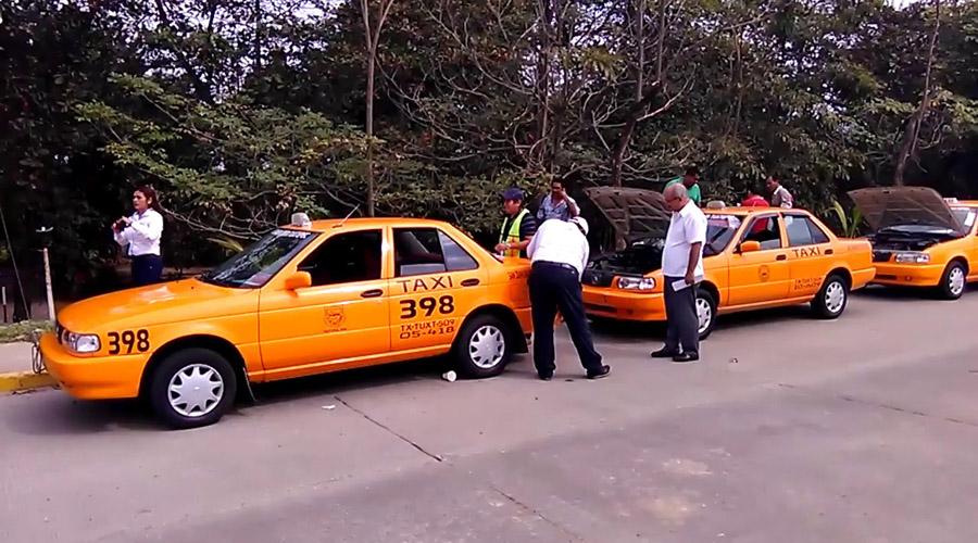 Baja ocupación de taxis en Tuxtepec   El Imparcial de Oaxaca