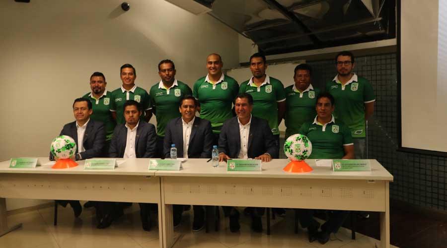 Chapulineros presentan su nuevo cuerpo técnico | El Imparcial de Oaxaca