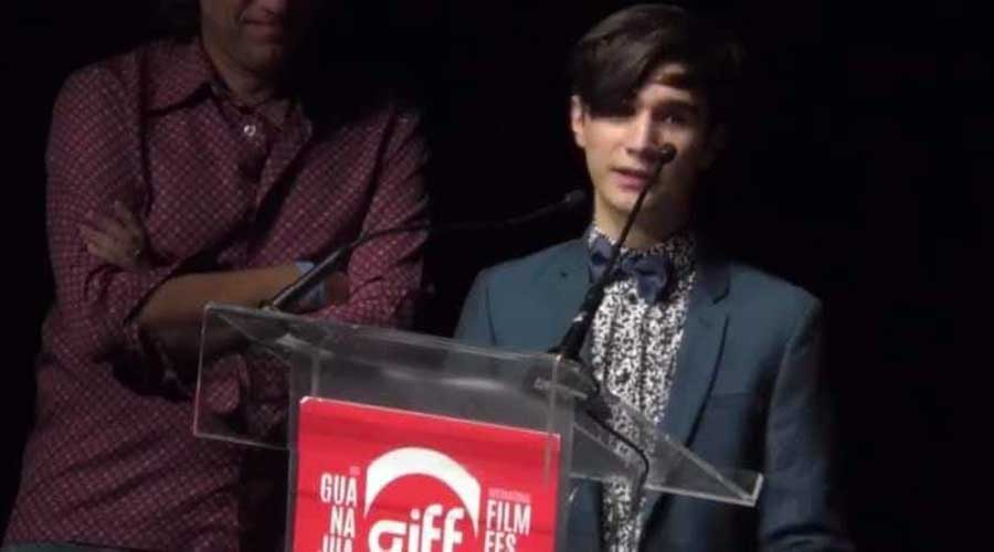 Cineasta de Tlaxiaco  gana en Festival de Cine en Guanajuato