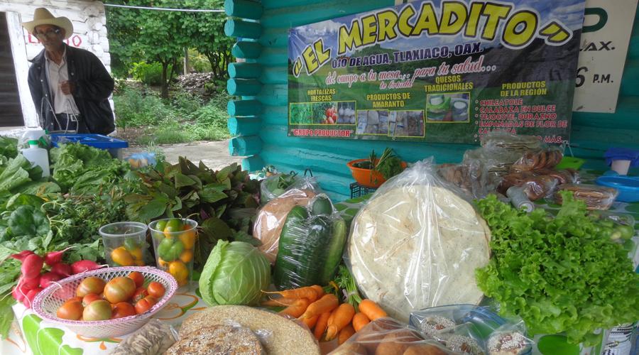 Crean en Tlaxiaco un mercado de productos sin químicos
